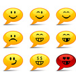 Smiley Comics vector image vector image