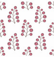 stylized berries seamless background for your vector image vector image