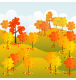 Sunny Forest vector image vector image