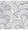 abstract wave line and loops seamless pattern vector image vector image