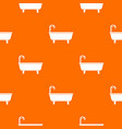 bathtub pattern seamless vector image vector image