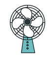 electric fan isolated icon vector image