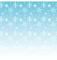 Seamless winter background pattern with snowflakes vector image