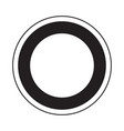 sun astrology icon vector image