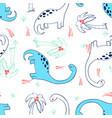animals seamless pattern print design vector image vector image