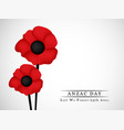 anzac day background vector image vector image