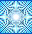 bright colorful radial radiating lines starburst vector image vector image