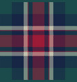 check tartan pixel plaid seamless pattern vector image vector image