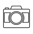 photo camera vector image vector image