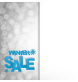 sale glitter poster vector image vector image