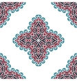 Seamless abstract arabic art background Damask vector image vector image