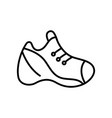sneakers line icon concept sign outline vector image vector image