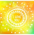 sun background yellow vector image vector image
