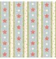 Vintage Stars Pattern vector image
