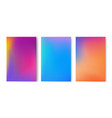 Abstract colorful gradient mesh background