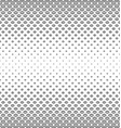 Black and white curved shape pattern vector image vector image