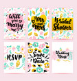 bridal shower greeting posters vector image vector image