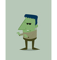 Cartoon Frankenstein vector image vector image