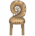 designer chair4 vector image vector image
