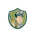 Gasoline Attendant Fuel Pump Nozzle Shield vector image vector image