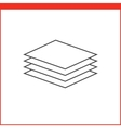 graphics designer tool icon vector image vector image