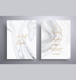 modern collection wedding invitations vector image vector image