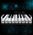 Music piano background vector | Price: 1 Credit (USD $1)