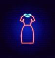 office dress neon sign vector image