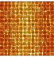 orange mosaic background vector image vector image