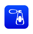 perfume icon digital blue vector image vector image