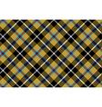 cornish tartan fabric texture seamless diagonal vector image vector image