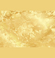 golden marble texture background for card vector image vector image