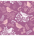 nature bird wallpaper vector image vector image