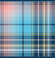 pixel seamless pattern check fabric texture vector image vector image