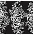 Seamless mehendi background vector image