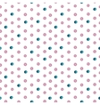 Seamless watercolor drops pattern vector image