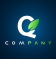 Alphabet letter Q logo icon design vector image vector image
