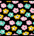 floral trendy seamless pattern vector image vector image