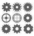 gear design vector image vector image