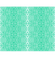 seamless lace mint color vector image