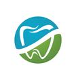 Dental logo Template vector image vector image