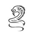 nyami nyami symbol vector image vector image