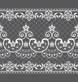 seamless lace pattern - retro weddin style vector image vector image