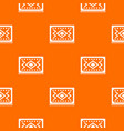 turkish carpet pattern seamless vector image vector image