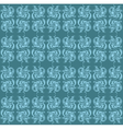 Vintage Abstract geometric pattern vector image