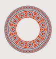 asian mandala frame vector image vector image