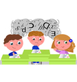 Children with learning difficulties vector image