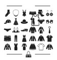 fashion lingerie decorations and other web icon vector image