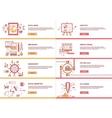 Management Digital Marketing Analytic Social Media vector image vector image