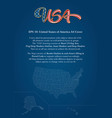 united states america copy vector image vector image